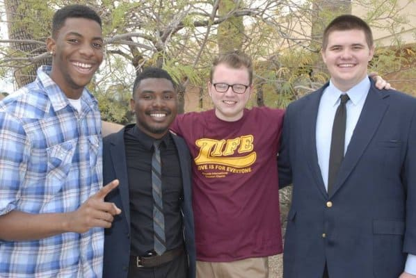 20160410_05-Charles and the brothers who studied the Bible with him!