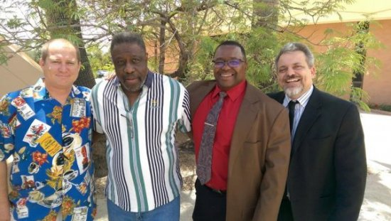 20160508_11-Larry standing with the powerful Men of God that studied with him!