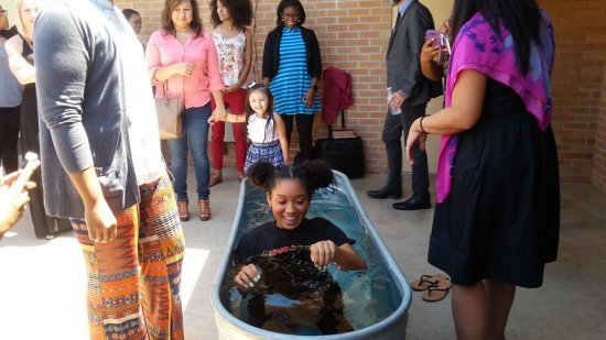 20160821_02-Jazmin is prepared to take the 'plunge' and be baptized in the name of Jesus Christ!