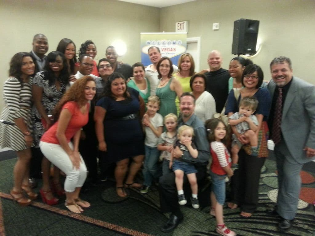The Phoenix disciples & a few of their friends that witnessed the Las Vegas inaugural church service!