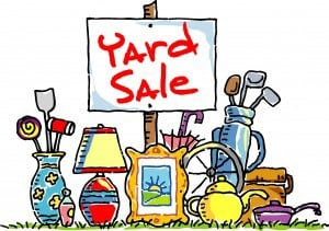 Yard/Garage Sales For Missions