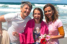 Oleg & Aliona Sirotkin – the Moscow mission team leaders – baptized their oldest daughter Sophiia on Tuesday at staff!
