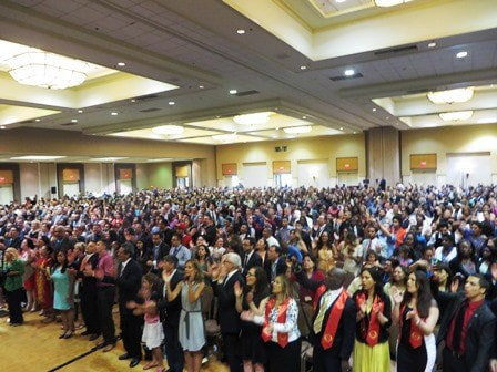Almost 2,000 gathered at the 2014 GLC Sunday!