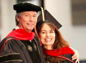 KIP & ELENA MCKEAN AT THE FIRST COMMENCEMENT OF THE ICCM IN 2013!
