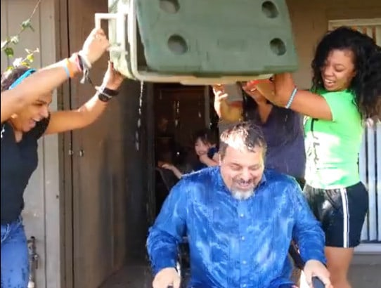 The ICE BUCKET CHALLENGE - Raising awareness for ALS & November 6x Special Missions Contribution!
