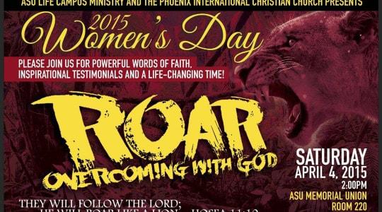 2015 Women's Day Speech - Roar!
