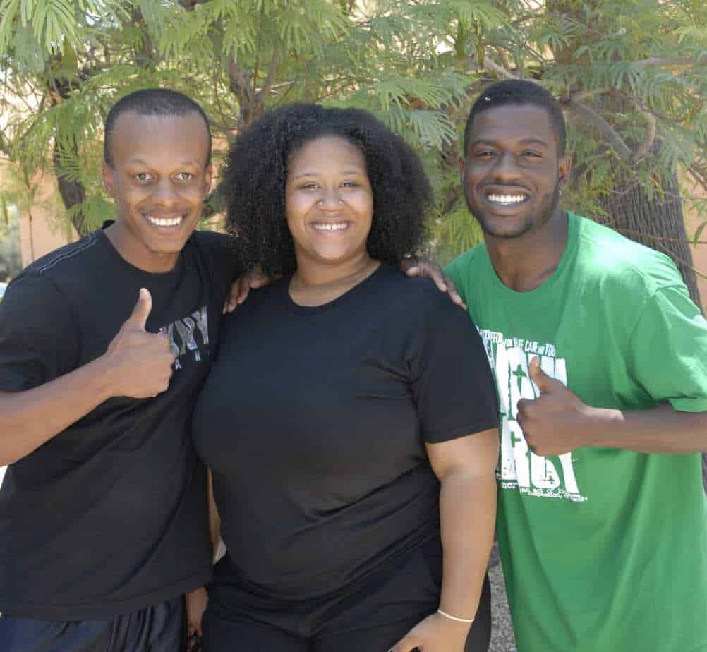 """What an amazing gift for our Heavenly Father on """"Father's Day!"""" To see three hearts make Jesus Lord! Darryl Mangum, Delisa Bulerin, and Cisco Hernandez!"""