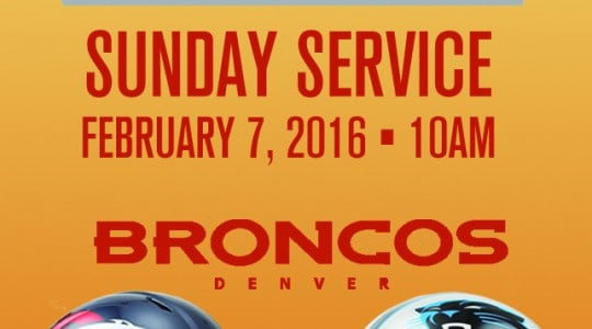 Superbowl Bring Your Neighbor Day Sunday!