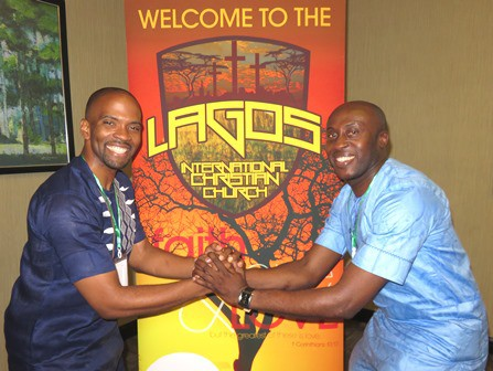 Andrew Smellie and Yomi Bello