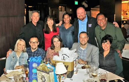 On Saturday night before the Seattle Inaugural Service, movement leaders celebrated Tim Kernan's, Jason Dimitry's and Joel Parlour's birthdays!