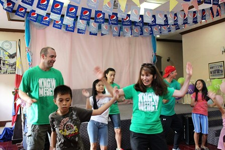 With childlike hearts Kip & Elena danced with the orphans!