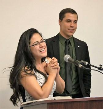 Cesar & Debbie Limon of Portland shared for Contribution!