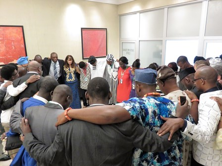 Blaise calls on the Holy Spirit to fall on us afresh to ignite a movement to change every nation of Africa!