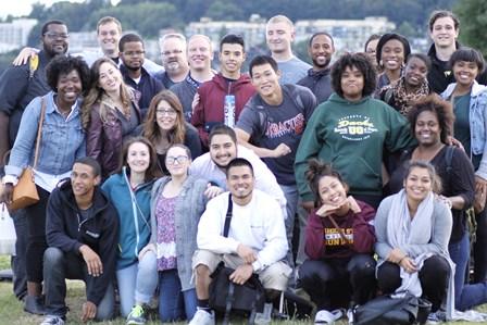 The jubilant Seattle International Christian Church!