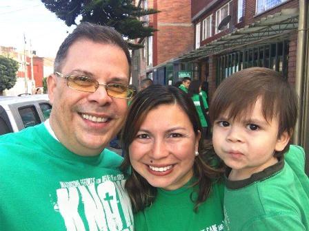 The very effective Bogota Church Leaders - Jose & Daniela Otero and their precious son Lorenzo!
