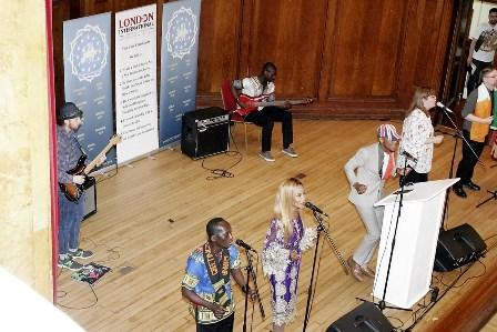 Kahri - the LuJack of London - has transformed the London Church into an angelic choir!