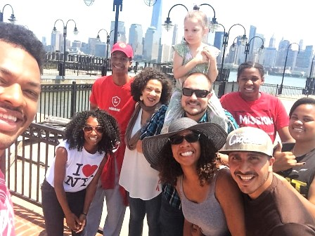 """The New York City Supplemental Mission Team arrived in """"their"""" city in late June!"""