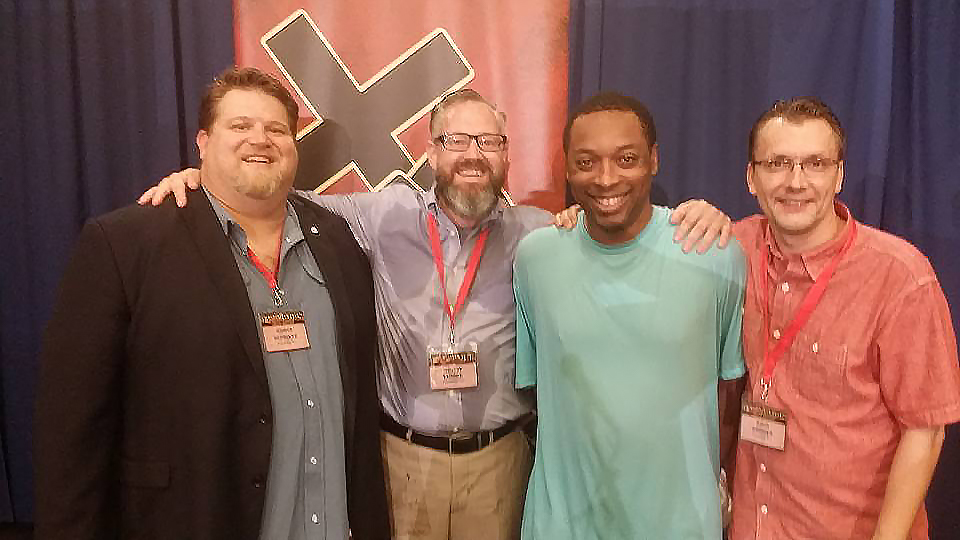What an incredible celebration for the Phoenix Church to see Marlis Williams (pictured, center right) baptized into Christ at this year's Global Leadership Conference Banquet!