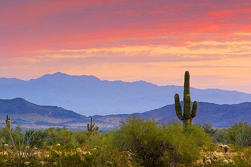 Arizona Sunrise - Mark 1:35
