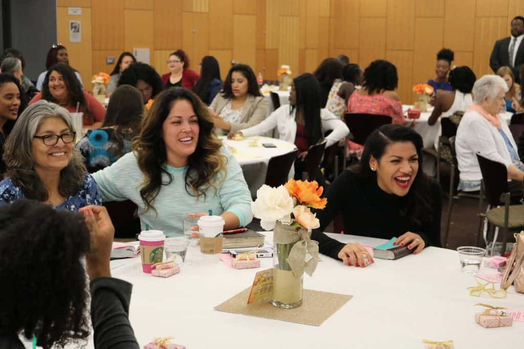 This year's inspiring women's day had 108 in attendance!